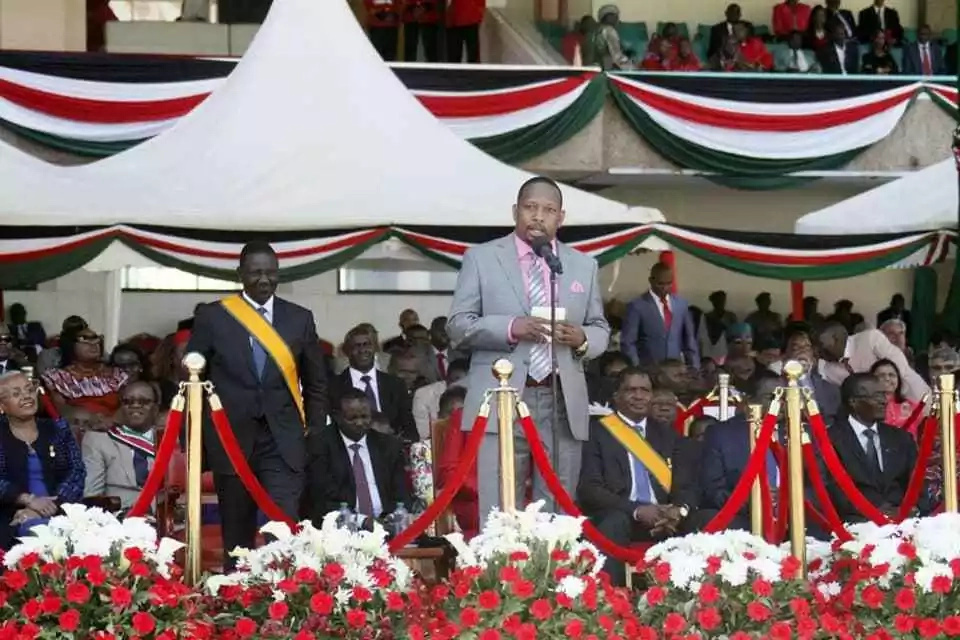 Sonko makes major blunder in Jamhuri Day speech and netizens are unforgiving after noticing it