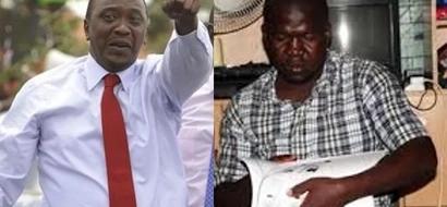 Uhuru facilitates direct employment opportunities for Kisumu man