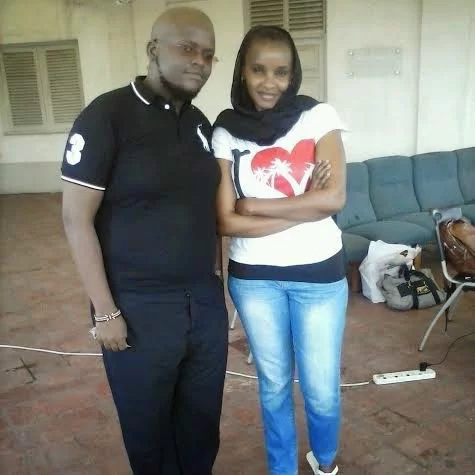 Two never-before-seen photos of Citizen TV's Lulu Hassan without a Bui Bui