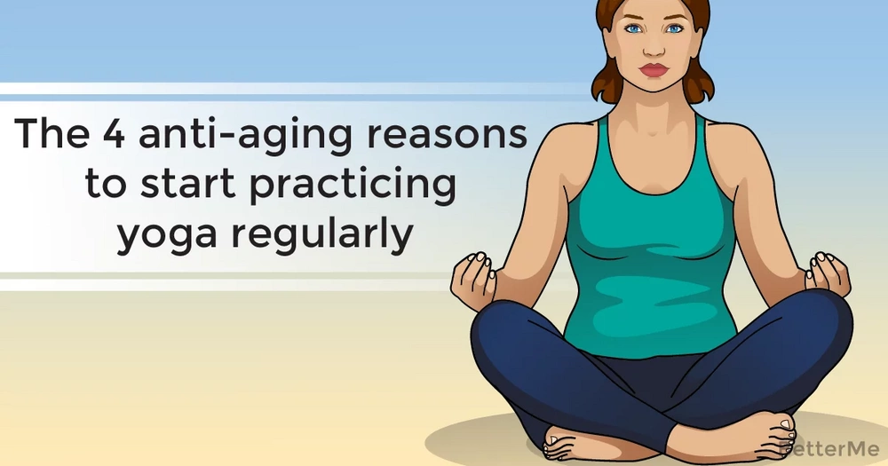 The 4 anti-aging reasons to start practicing yoga regularly
