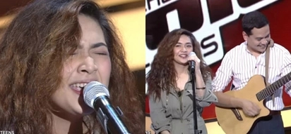 Napakasuwerte! 'The Voice Teens' contestant gets a chance to jam with John Lloyd Cruz on stage