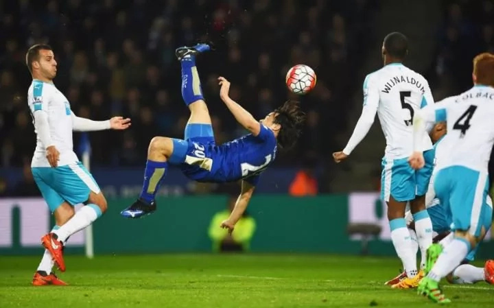 Shinji Okazaki stunner gives Leicester City win over Newcastle