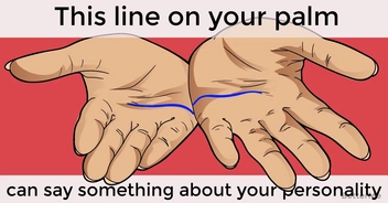This line on your palm can say something about your personality