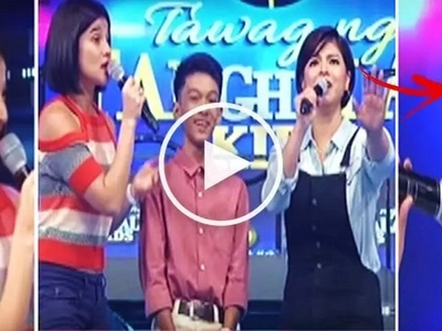 Learn from the expert! Watch Anne Curtis teach Angel Locsin how to sing on 'It's Showtime!'