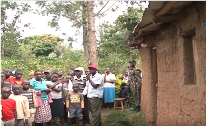 Heartless Bungoma father kills son, buries him under his bed