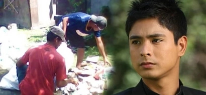 Shocking revelation! Coco Martin collects plastic bags as OFW janitor in Canada to survive