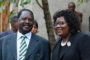 Raila Odinga alikuwa na uhusiano wa kimapenzi na shemeji yake