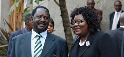 Why Raila Odinga's wife is not happy with President Uhuru