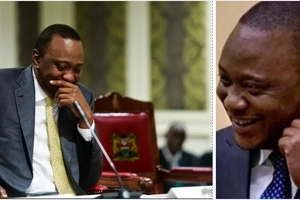 Uhuru reveals his female friend in the media industry