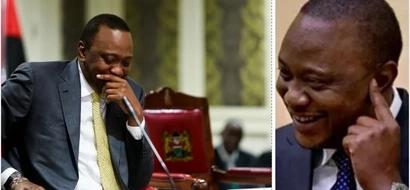 Uhuru reveals his female friend in the media industry