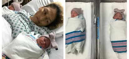 Twins were born minutes apart but in different years