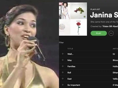 Janina San Miguel's Bb. Pilipinas 2008 Q&A portion goes viral once more through netizen's Spotify playlist