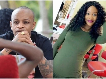 Prezzo deletes Yola's tattoo after she flaunted another man's pregnancy