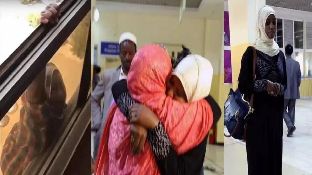 Do you remember the maid who was thrown off 7th floor by her boss? She is back home