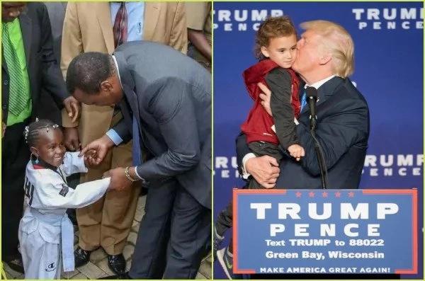Uhuru vs Donald Trump's kids like you have never seen them before