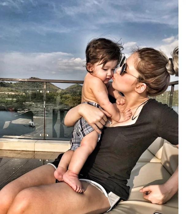 Super close talaga si Kylie sa pamilya ni Aljur! Kylie Padilla and Aljur Abrenica's Palawan escapade with super cute Baby Alas