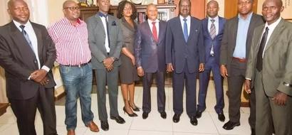 Raila hosts former MP arrested for drug trafficking