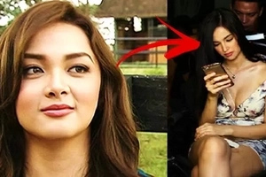 Kim Domingo reportedly disrespected Meg Imperial during pictorial. What Kim allegedly did to Meg while using her phone will shock you!