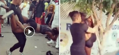 See what two men did to a lady in public (photos, video)