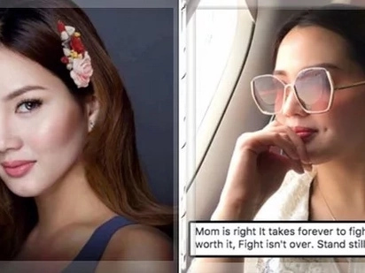 """Deniece Cornejo posts cryptic message on Facebook: """"It takes forever to fight but it will be worth it."""""""
