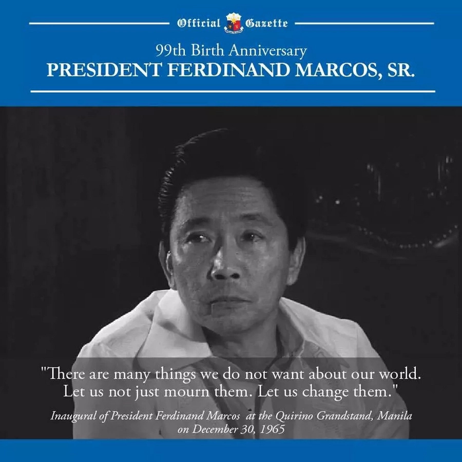 Gazette accused of historical revisionism for Marcos' birthday