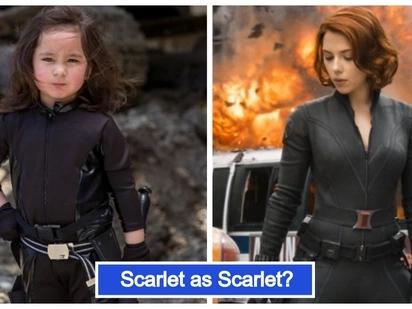 Little Avengers ang peg! Larawan ni Scarlet Snow Belo na naka-'Black Widow' costume, viral ngayon sa socmed