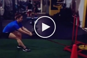 Pata ba kamo? Jessy Mendiola proves her strength with quick but intense workout