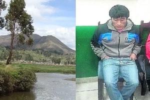 Mató a su expareja y a su hija, luego lanzó los cuerpos a un río