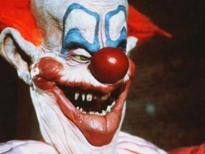 Creepy Clown is BLOWN UP after being chased into jungle filled with landmines