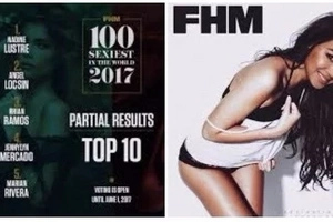 James Reid admitted that he is excited that girlfriend Nadine Lustre is leading the FHM Poll!