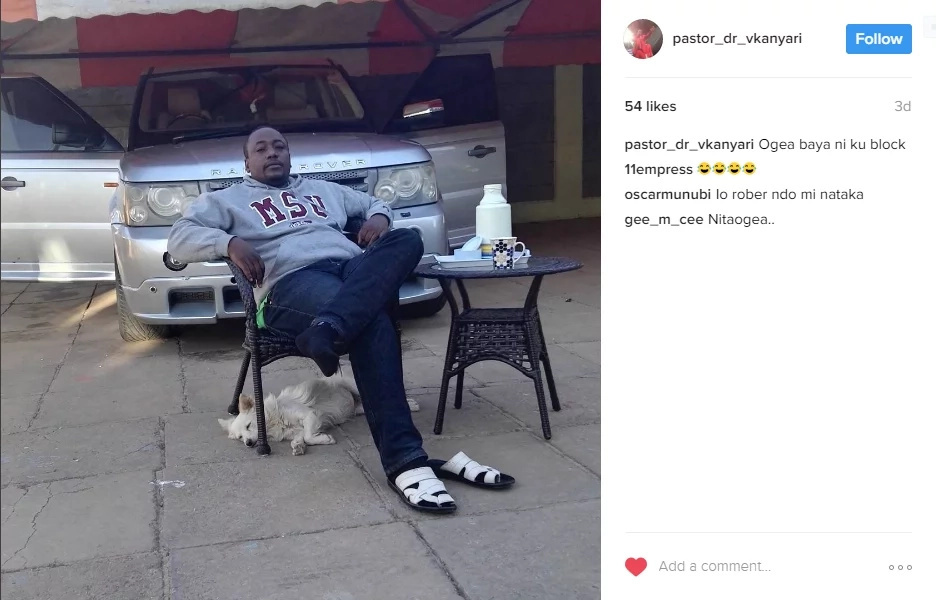 Prophet Kanyari is at it AGAIN, see the shocking thing he did to his followers