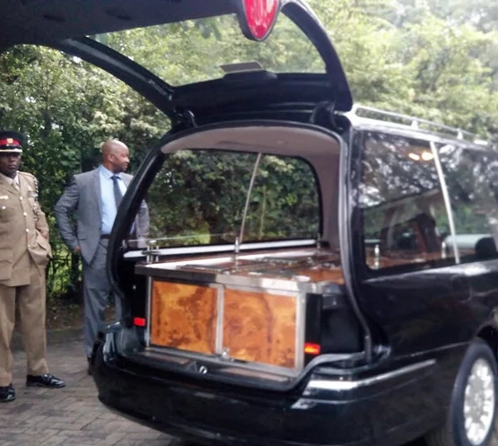 Mama Lucy Kibaki's body leaves Lee Funeral Home
