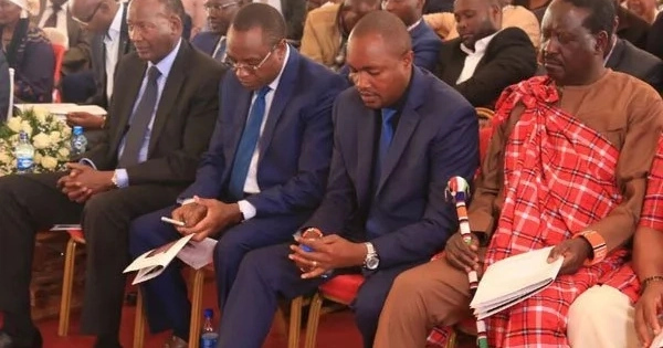 TEARS as former MP and minister is buried