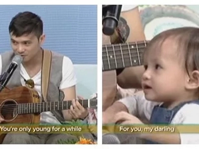 Ang sweet ni daddy! Kean Cipriano composes heartfelt song for daughter with Chynna Ortaleza, baby Stellar