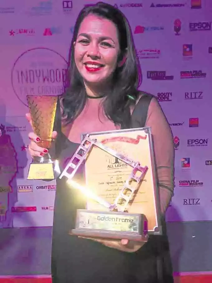 Lotlot de Leon bagged Best Supporting Actress in 50th Houston Worldfest in Texas!
