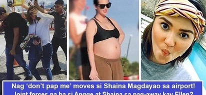 Dumadami sila! After Angelica Panganiban, Shaina Magdayao may be the new girl throwing shade at Ellen Adarna with 'don't pap me' gesture