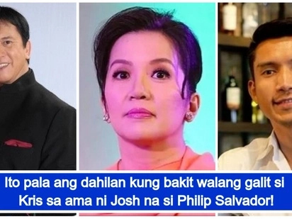 Kris Aquino reveals reason why she felt no animosity towards Philip Salvador amid her recent posts about James Yap