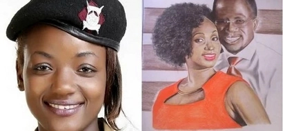 27-year-old policewoman DAZZLES with amazing potraits of Uhuru, Joho
