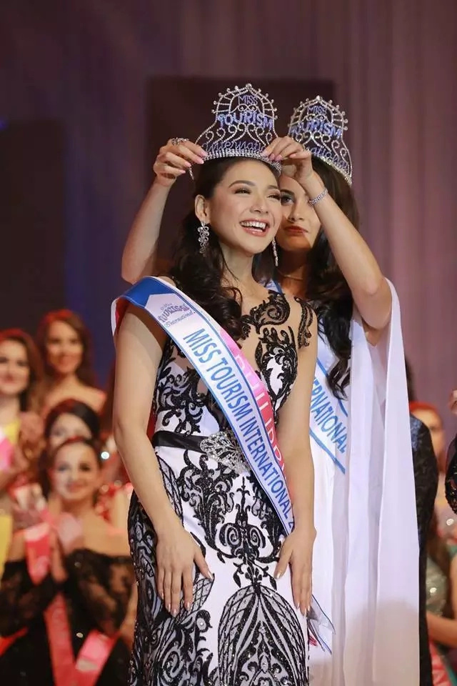 Isa na namang korona para sa Pilipinas! PH bet Jannie Alipo-on wins Miss Tourism International 2017
