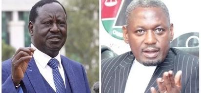 Moses Kuria asema anayefaa kuchukua nafasi ya Raila Odinga, Nyanza