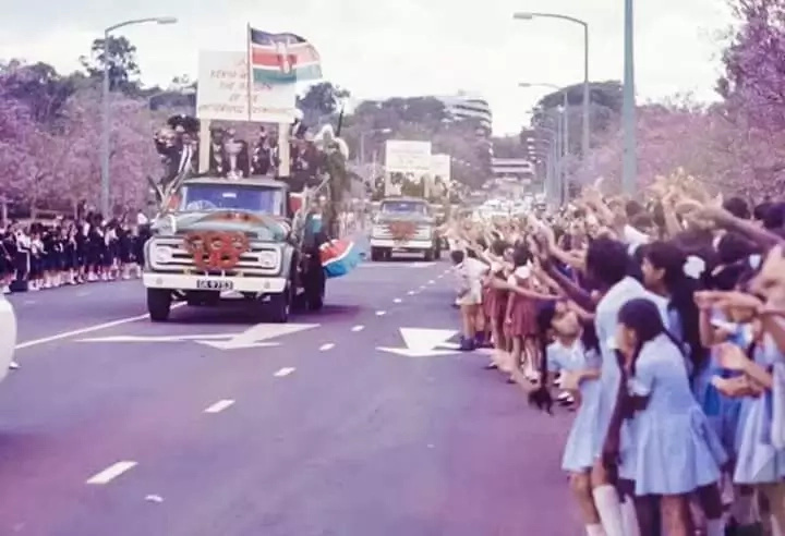 How Kenya's heroic team for the 1968 Olympics arrived home