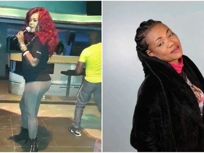 Celebrated Kenyan songstress Lady Maureen collapses on stage while performing