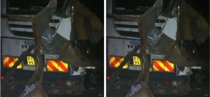Man who escaped death at the deadly Nakuru accident reveals the disturbing events leading to the accident