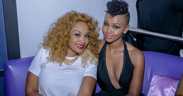 Zari Hassan attacks Huddah after she gave Diamond Platnumz her good in private