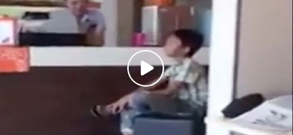 May future 'tong bata! Pinoy boy requested to sing in Dunkin' Donuts and is simply amazing