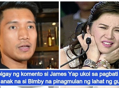 Wala raw masama dun! James Yap defends his controversial birthday greeting for son Bimby Yap