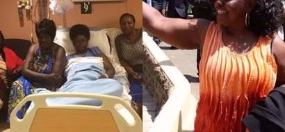 Fiery ODM MP Millie Odhiambo admitted to hospital