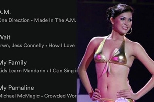 Ang daming time! Netizen creates a Spotify playlist out of this beauty queen's iconic speech