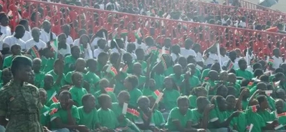 PHOTOS: Kenyans Celebrate Country's 52nd Jamhuri Day In Colour