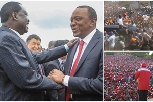 Here's what Uhuru and Raila are doing this weekend to avoid clashing of supporters